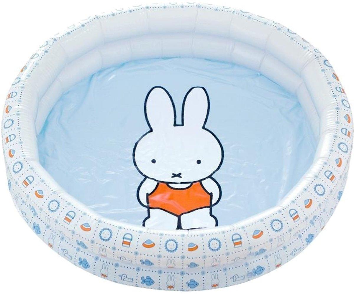 Nijntje Opblaasbare Zwembad 80 cm | Baby / Peuter Zwembad voor kinderen vanaf: 1 Jaar |