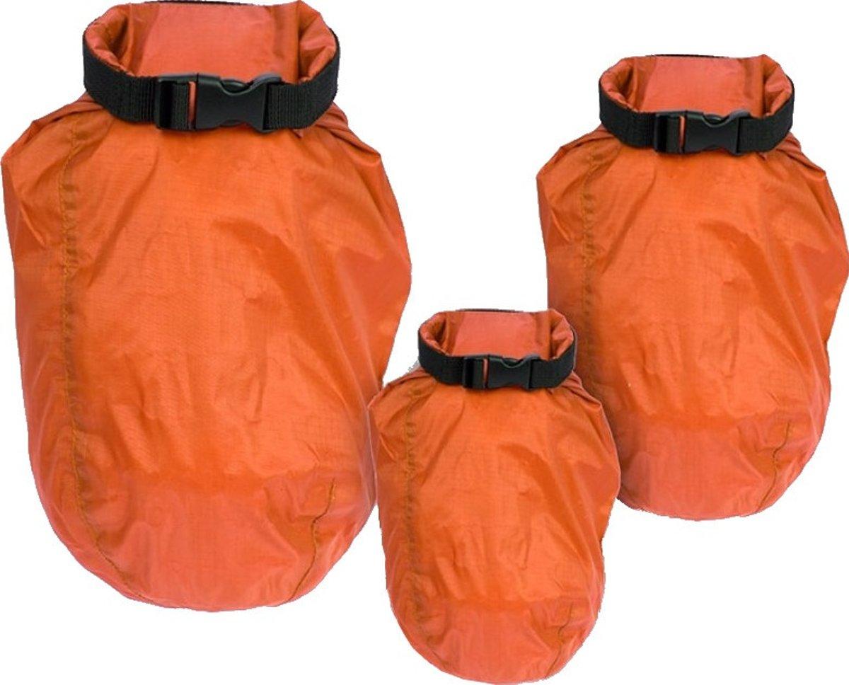 regenhoezenset oranje 2/5/8 liter 3-delig kopen