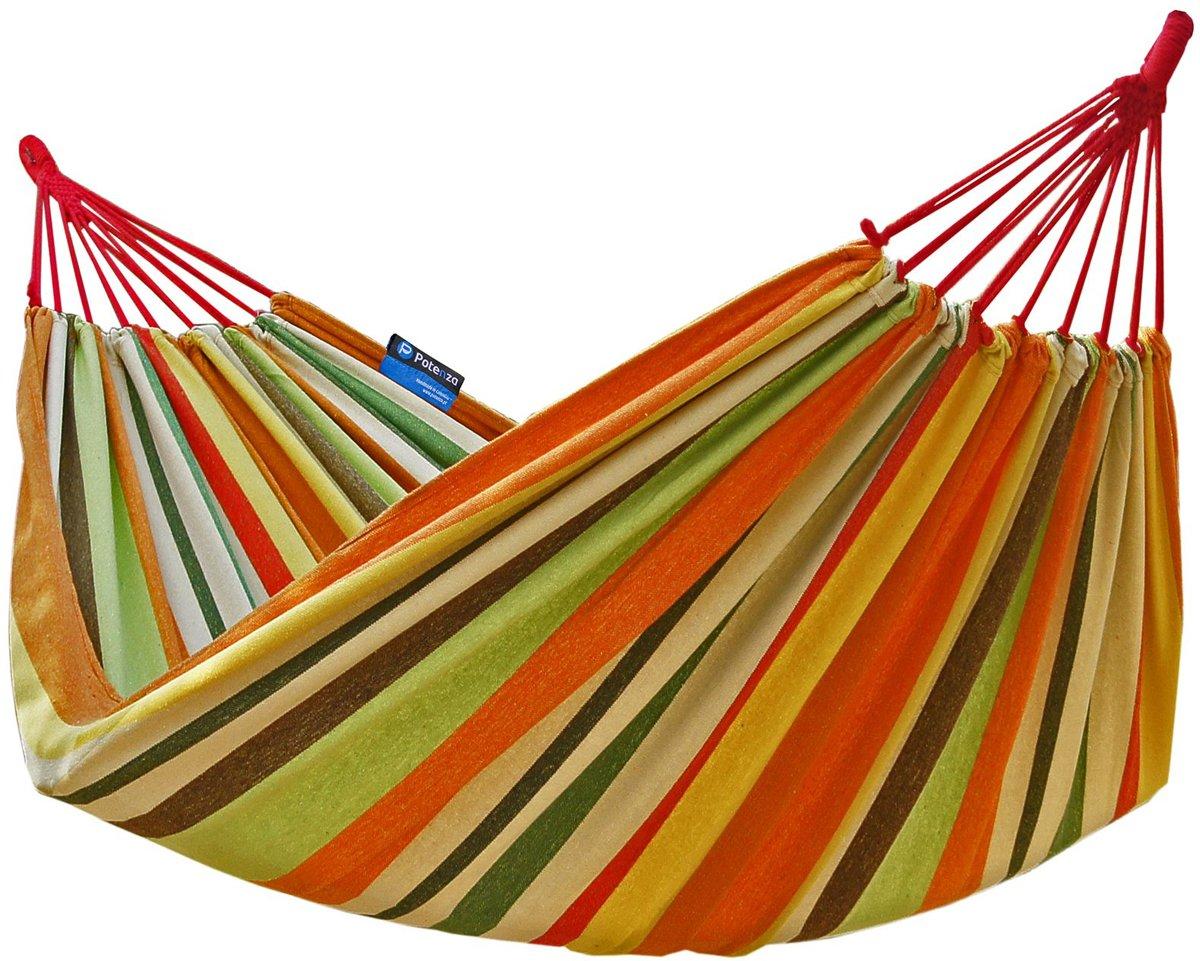 Potenza- 2 persoons hangmat / twee persoons hangmat (inclusief 2xtouw)
