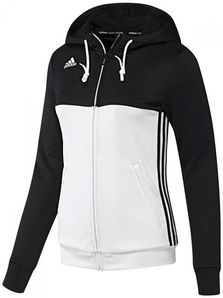 adidas T16 'Offcourt' Hoody Dames Sweaters zwart XS