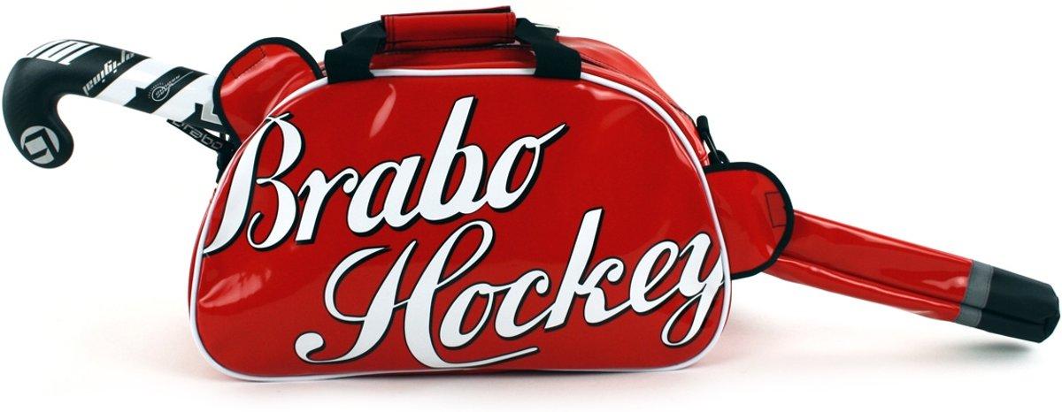 Brabo Enjoy - Schoudertas - Volwassenen - Rood/ Wit/ Zwart kopen