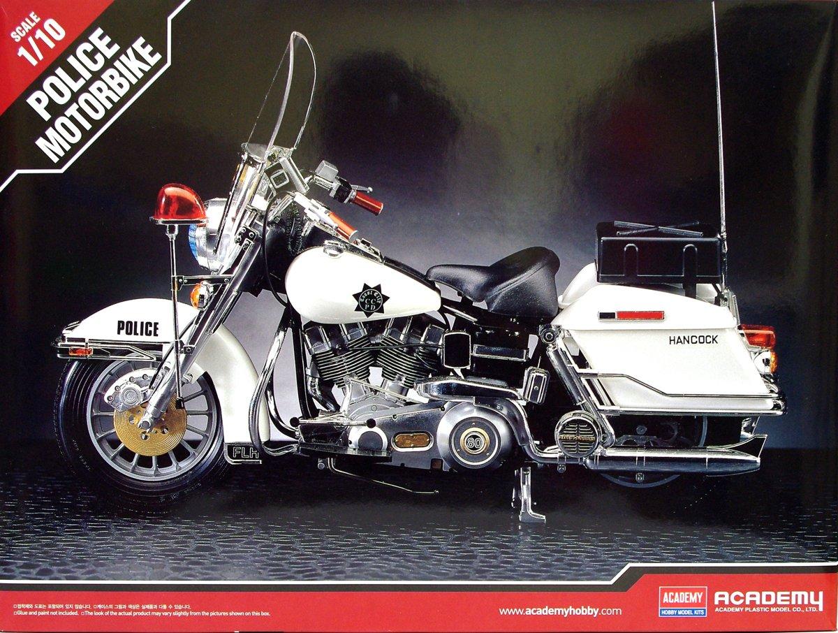 Academy Harley Davidson  Politie motor - modelbouw pakket