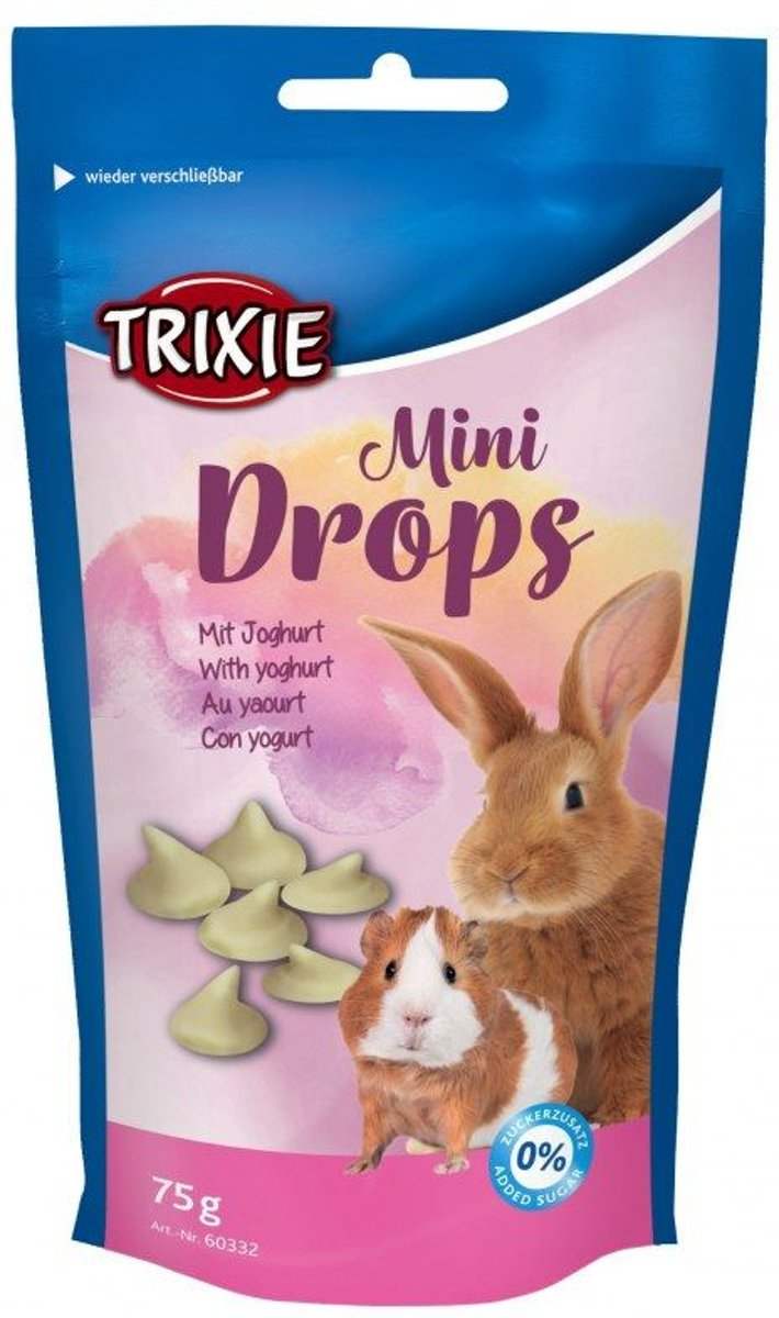 Trixie mini drop yoghurt 75 gram