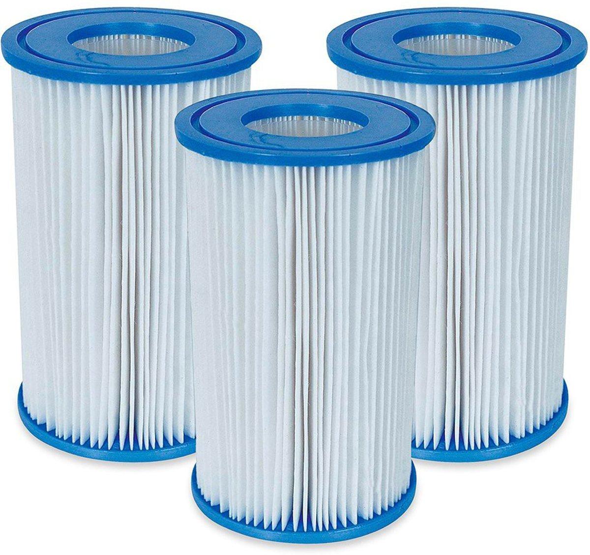 Intex Zwembad Filtercartridge Type A - 29000/59900 - 3 stuks