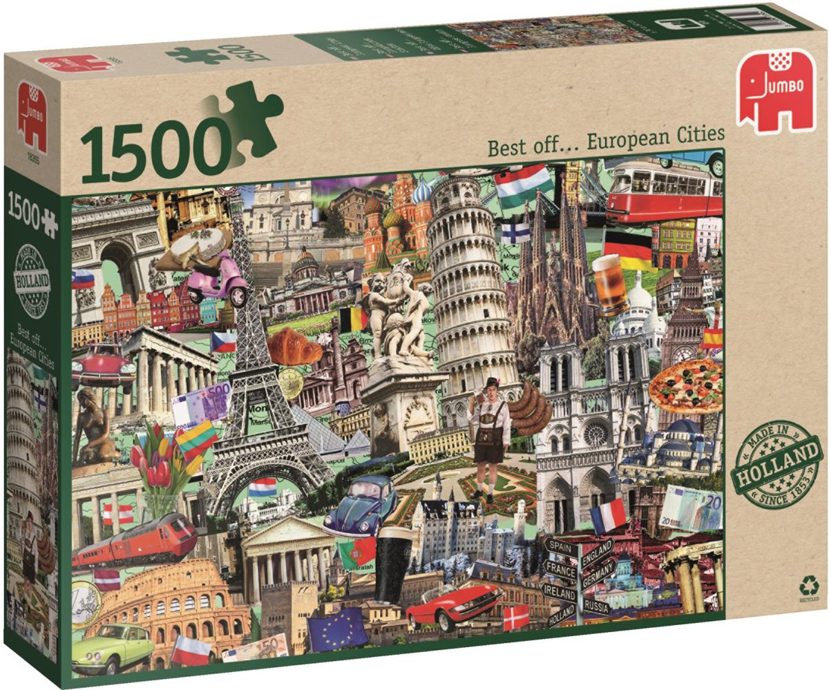 Best off? European City - Puzzel - 1500 stukjes
