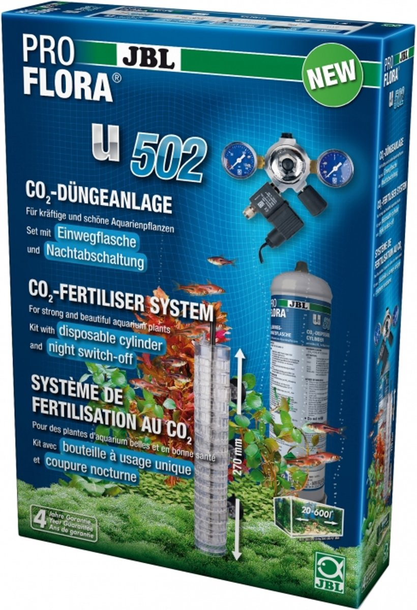 JBL PROFLORA U502+ CO2 bemestingsysteem bemestingsinstallatie kopen