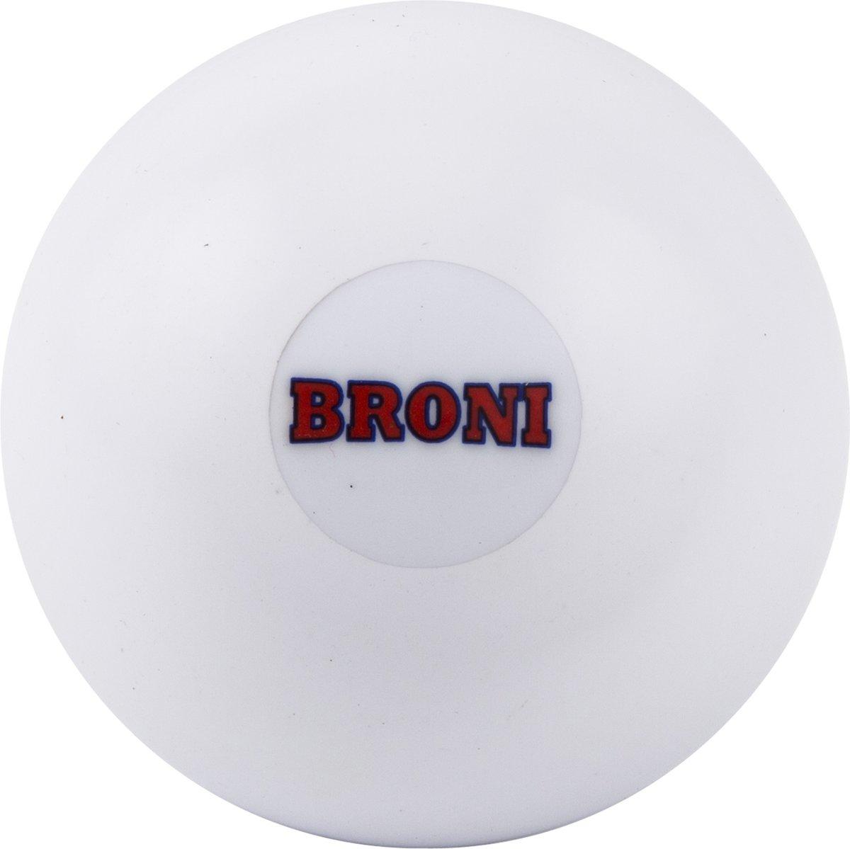 Hockeybal Broni glad - wit kopen