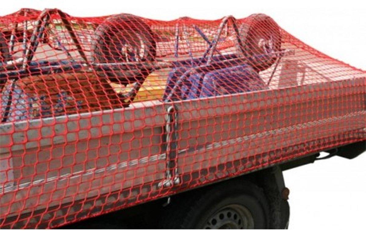 Loadlok Afdeknet 250x450cm Maas 40mm Pp Rood kopen