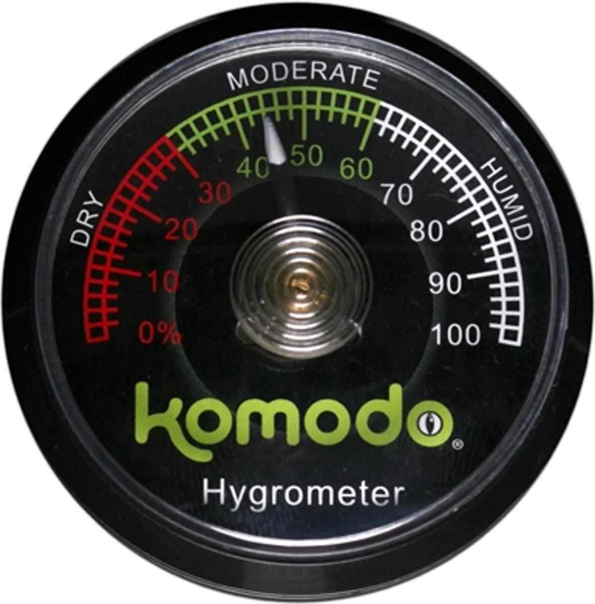 Komodo - Hygrometer Analoog