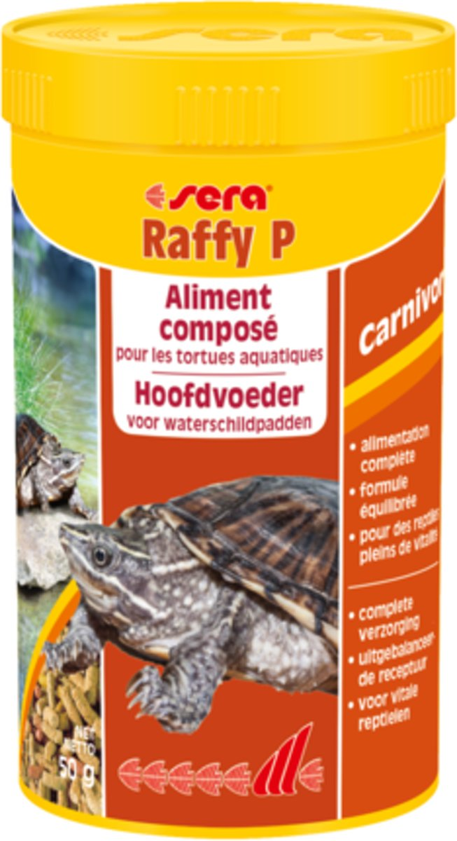 sera Raffy P - 1000ml - Reptielenvoer voor waterschildpadden