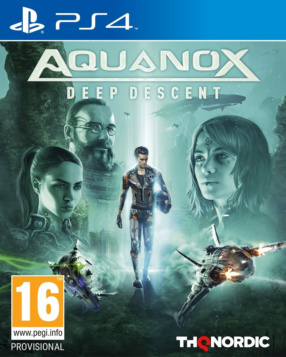 Aquanox: Deep Descent PlayStation 4