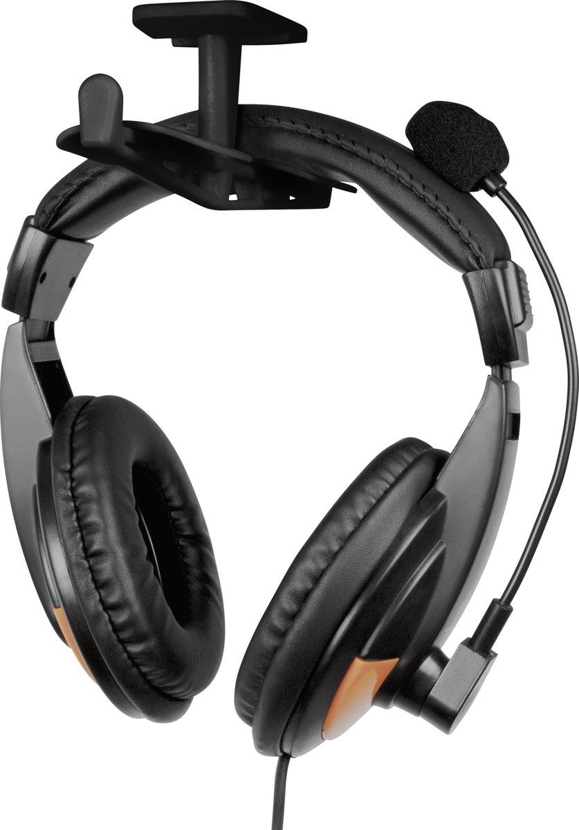 DELTACO GAMING GAM-062 - Universele Headset Houder voor twee hoofdtelefoons kopen
