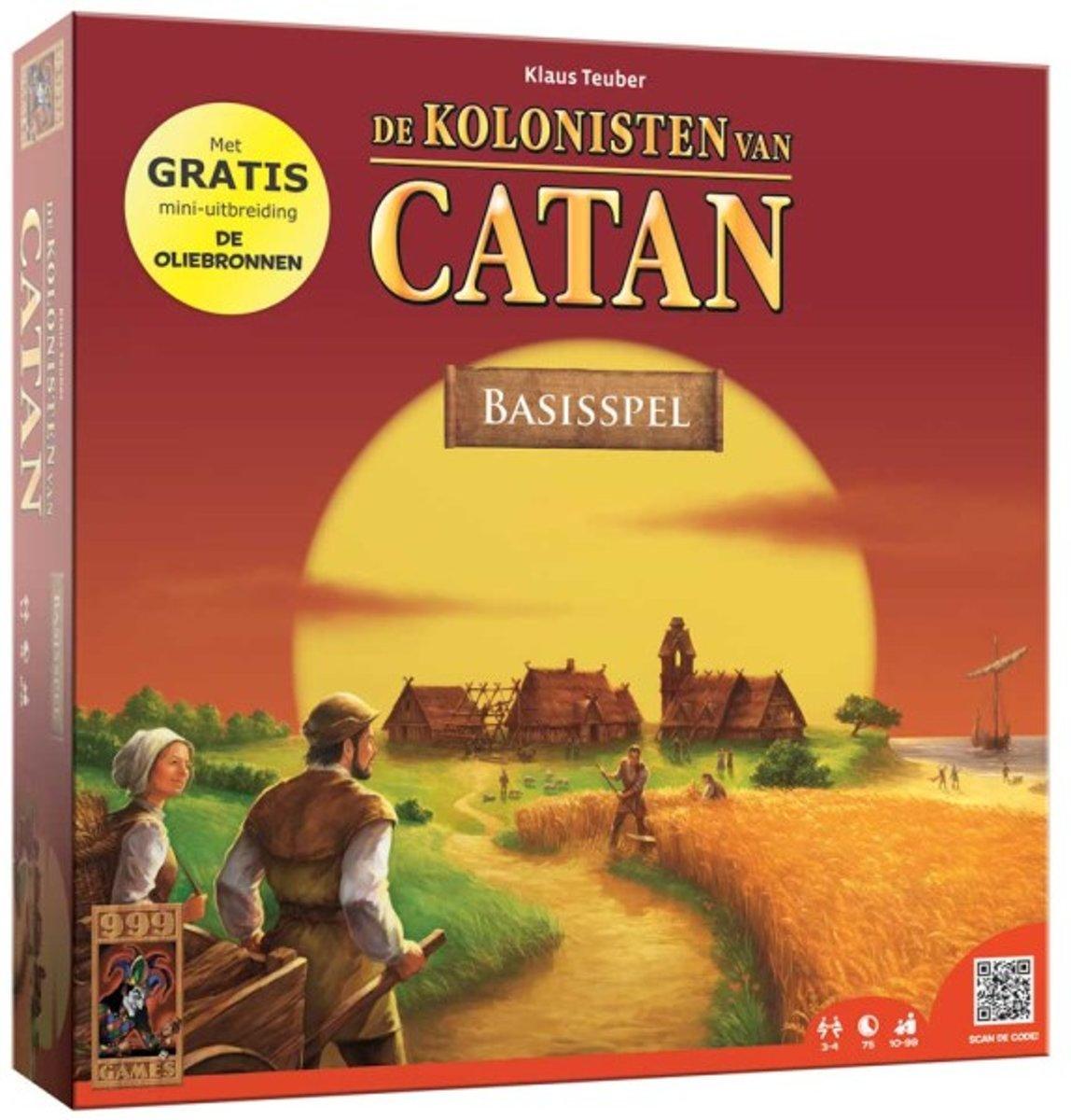 De Kolonisten van Catan + Gratis Uitbreiding De Oliebronnen - Bordspel