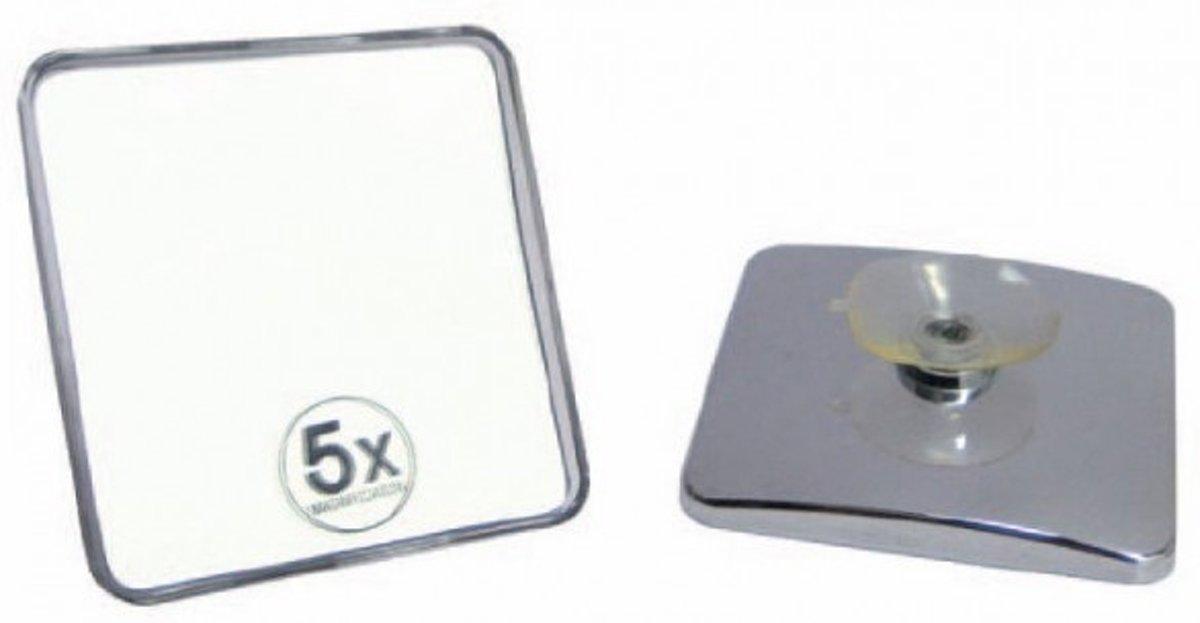 Vergrootspiegel Met Licht : Bol vergroot spiegel vierkant met zuignap cm