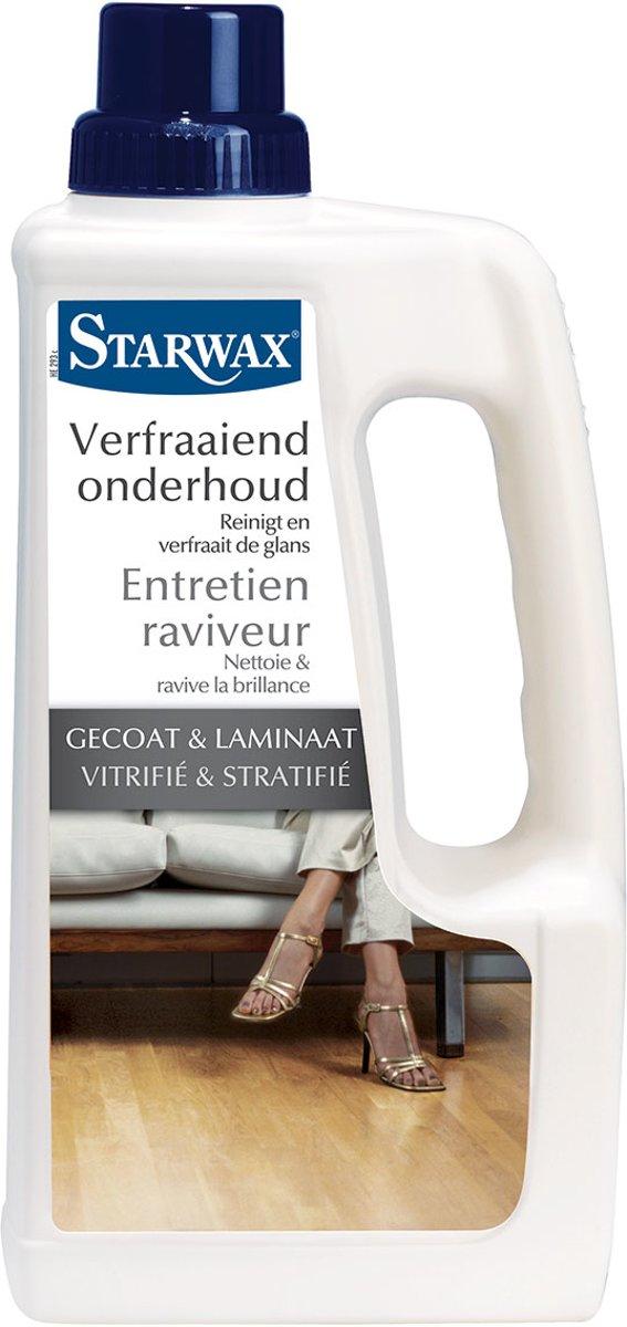 Starwax verfraaid onderhoud 'Gecoat & Laminaat' 1 L kopen