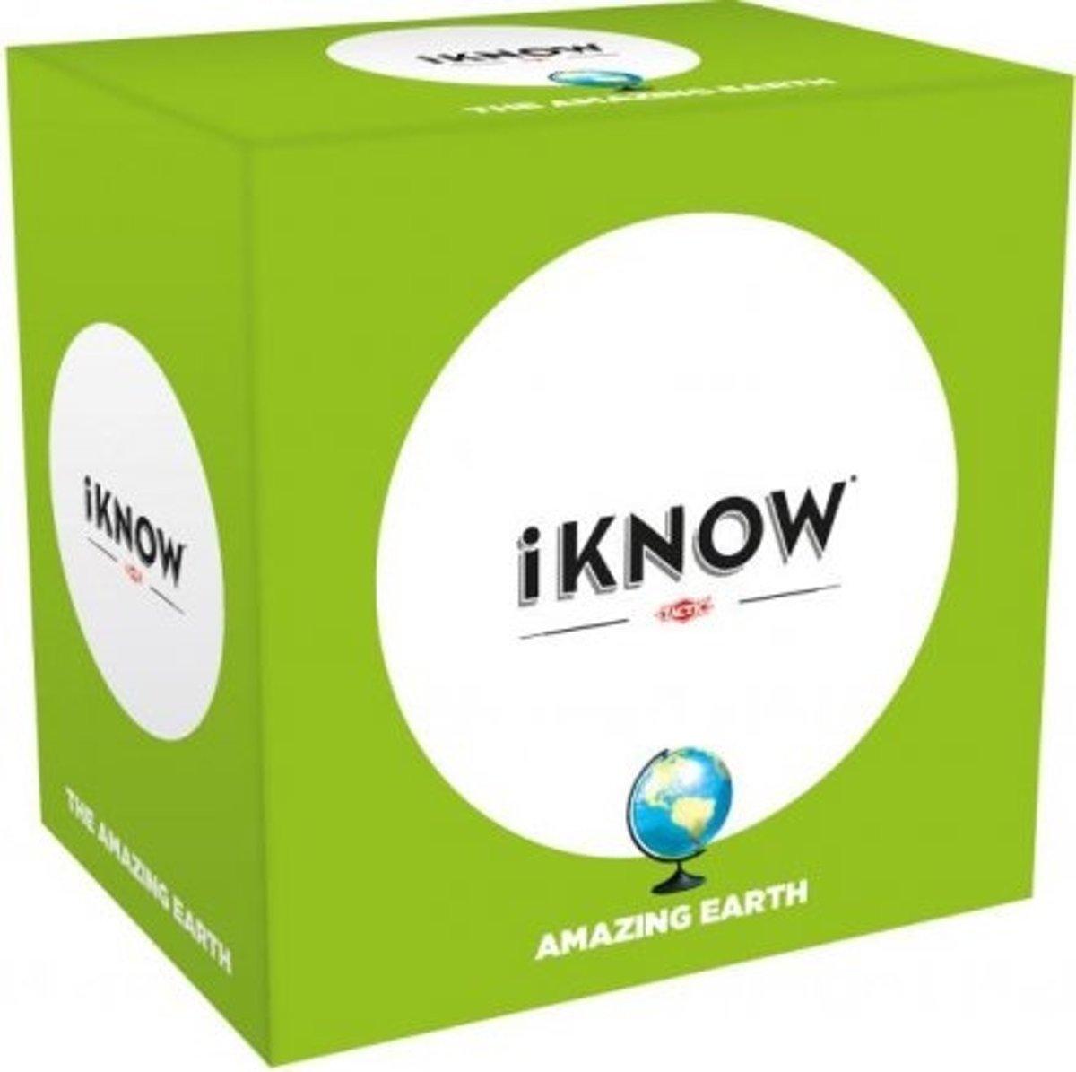 iknow mini: de Aarde - Gezelschapsspel