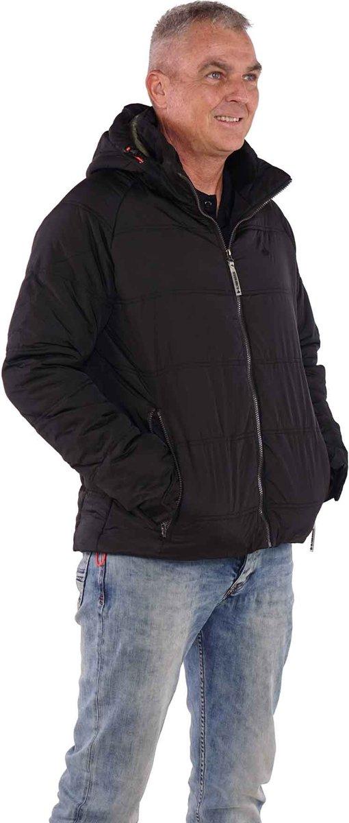 BJØRNSON Winterjas Heren Zwart Maat 3XL VERNER