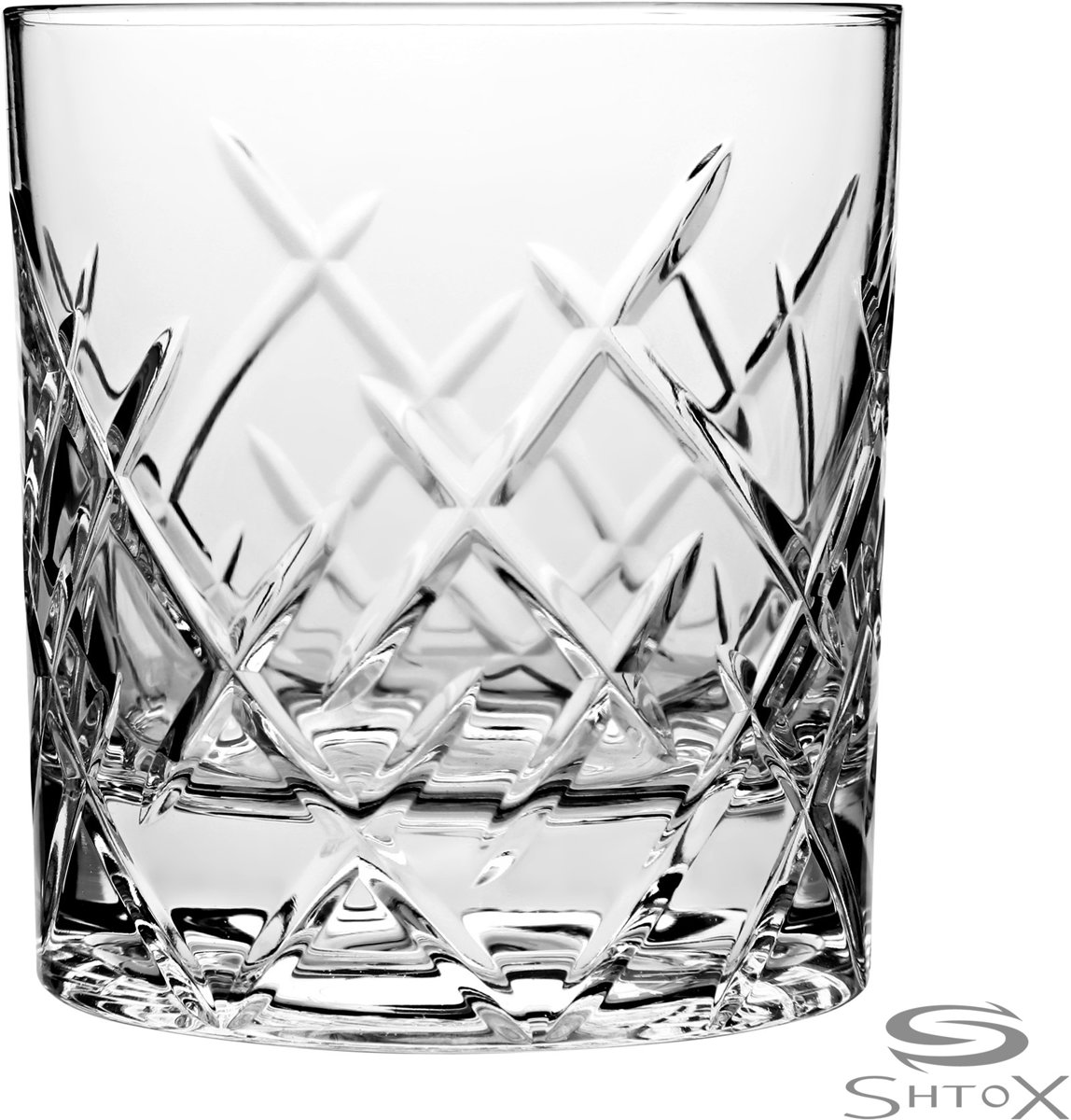 Shtox 011 Roterend Whiskey en cocktail glas uit kristal kopen