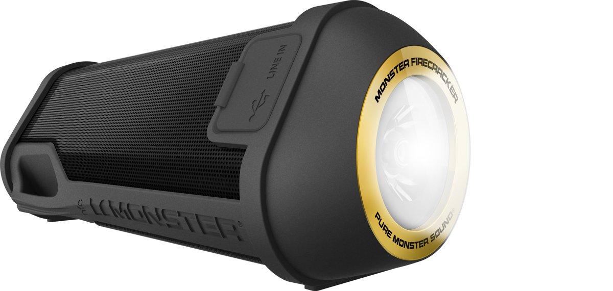 Monster FireCracker Bluetooth Speaker - Zwart kopen