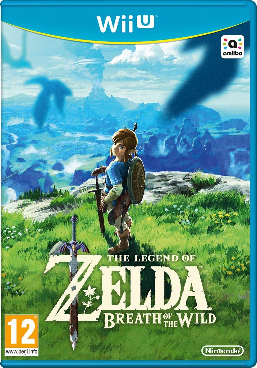 The Legend Of Zelda: Breath of the Wild - Wii U voor €29,98
