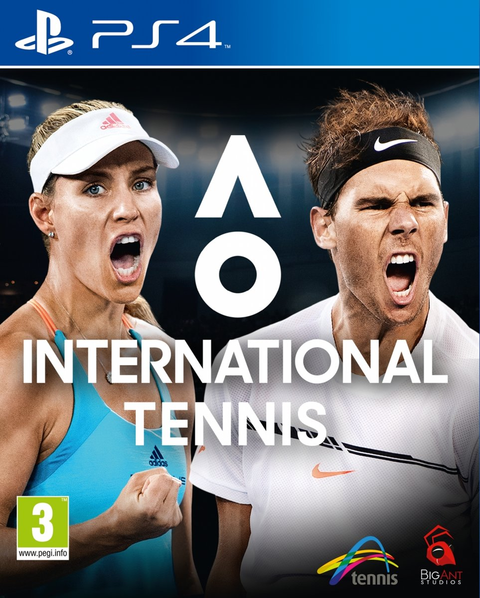 AO International Tennis PlayStation 4