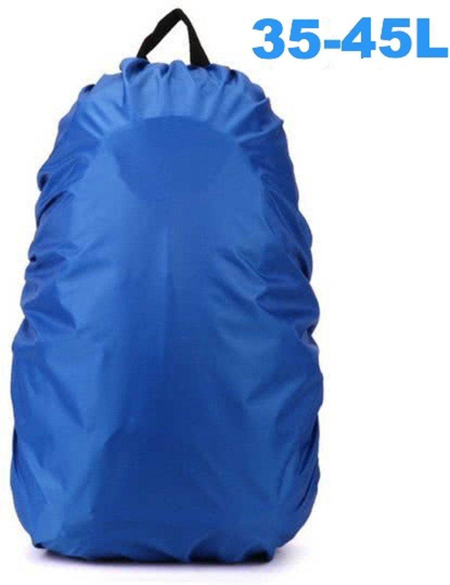 ForDig - Flightbag Regenhoes Waterdicht voor Backpack Rugzak - 35-45 Liter Regenhoes – Blauw M kopen