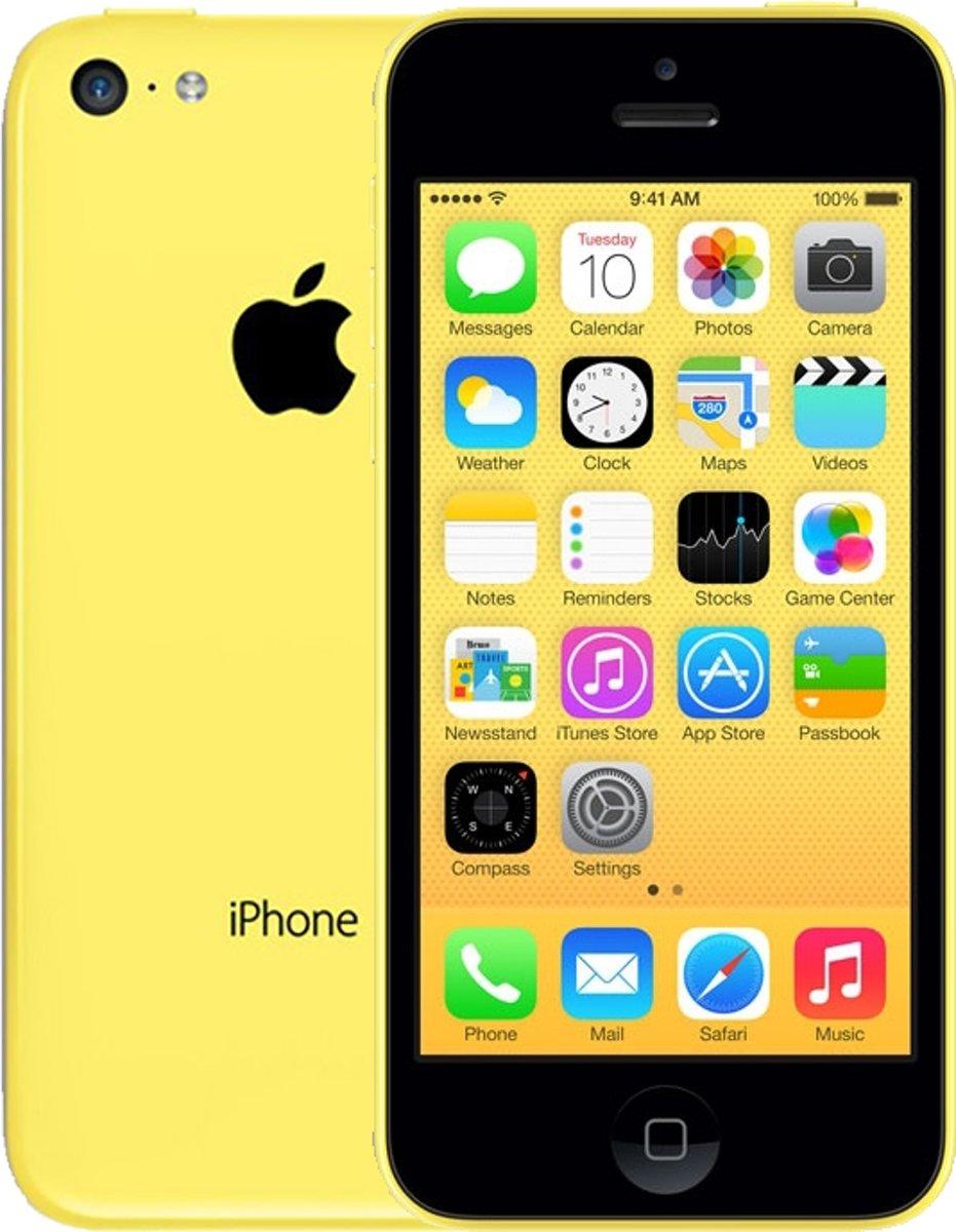 Apple iPhone 5c - 8GB - Geel kopen