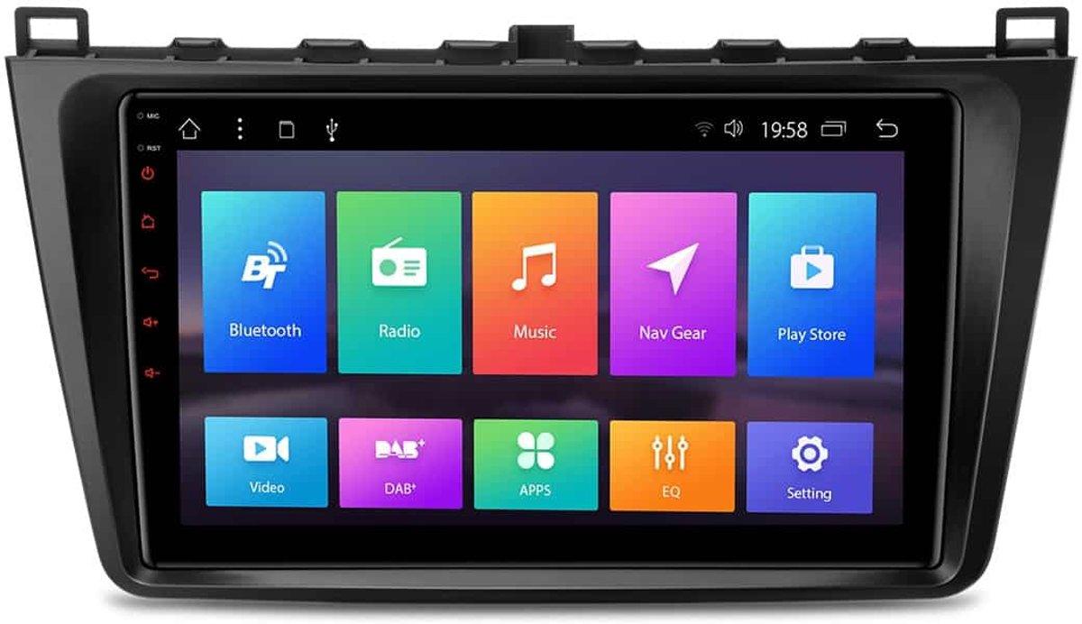 MAZDA 9 Android 7.1 Multimedia Navigatie Systeem kopen