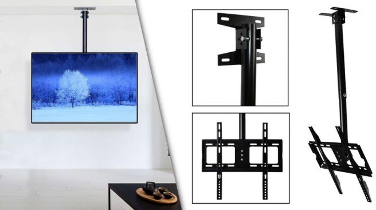 Universele TV Plafondbeugel 26-55 Inch Plafond Steun Ophang Beugel - Draaibaar En Kantelbaar kopen