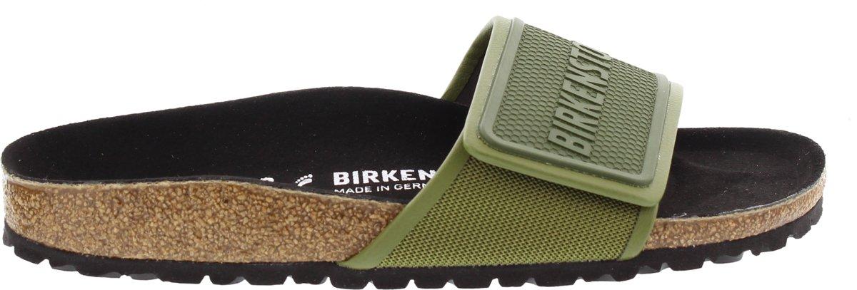 Birkenstock Tema Smal Sport Tech Unisex Slippers - Green - Maat 38 kopen
