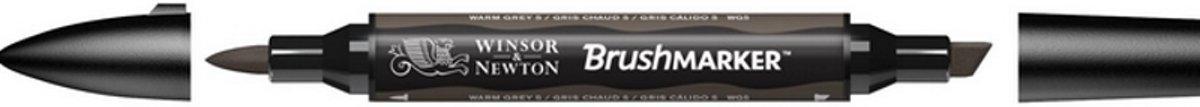Winsor and Newton BrushMarker Warm Grey 5 WG5