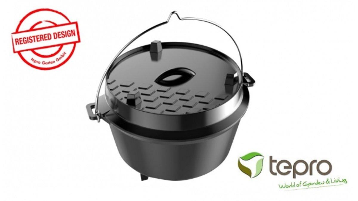 Tepro 8232 Gietijzeren Dutch Oven 8 Liter kopen