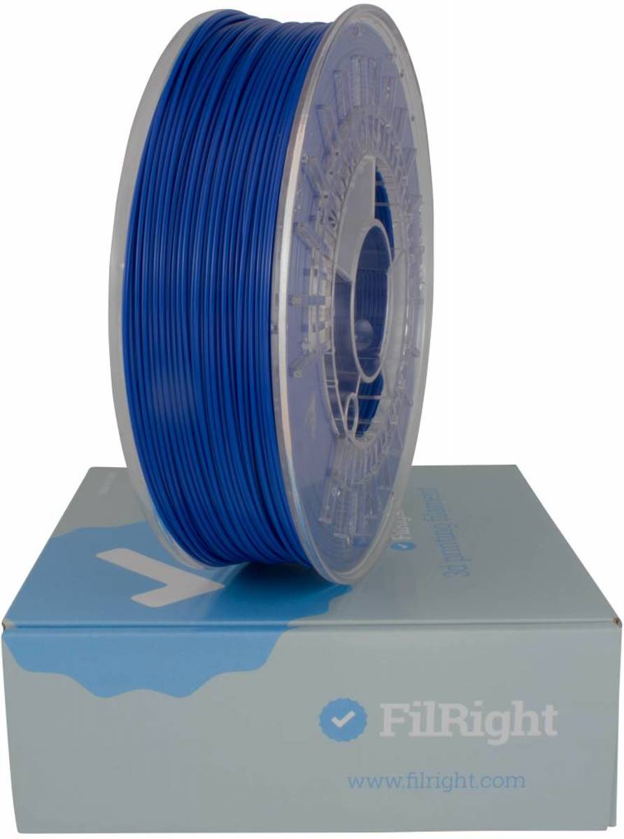 FilRight Maker ABS Filament - 1.75mm - 1 kg - Blauw