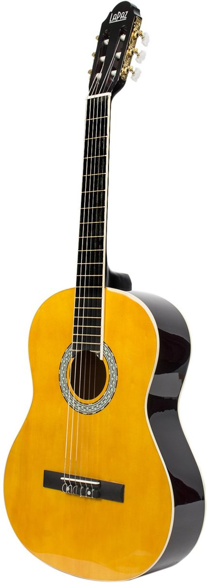LaPaz 001 AN klassieke gitaar Amber Natural
