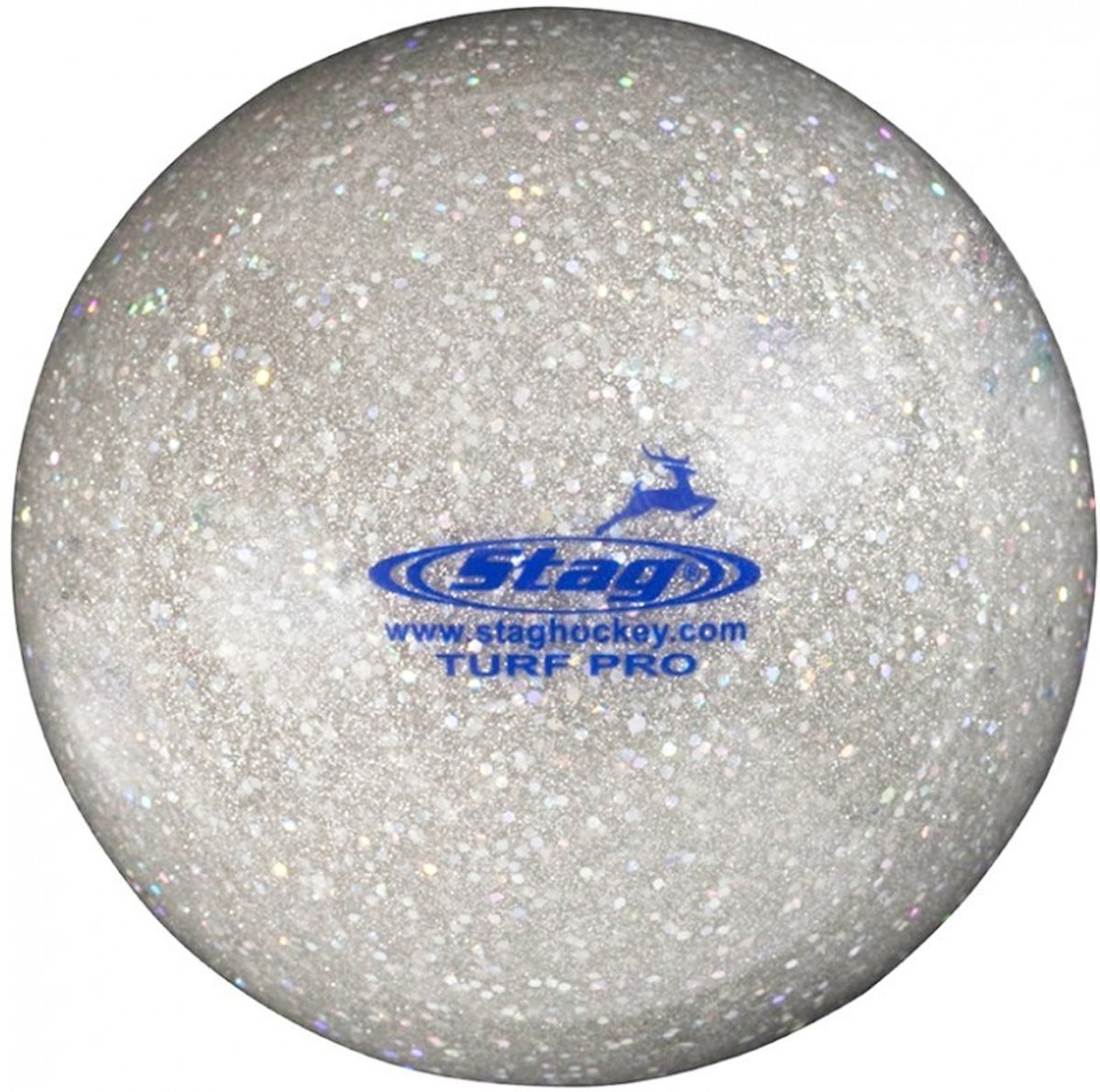 Stag Pro Turf Glitter Hockeybal - Ballen  - zilver - ONE kopen