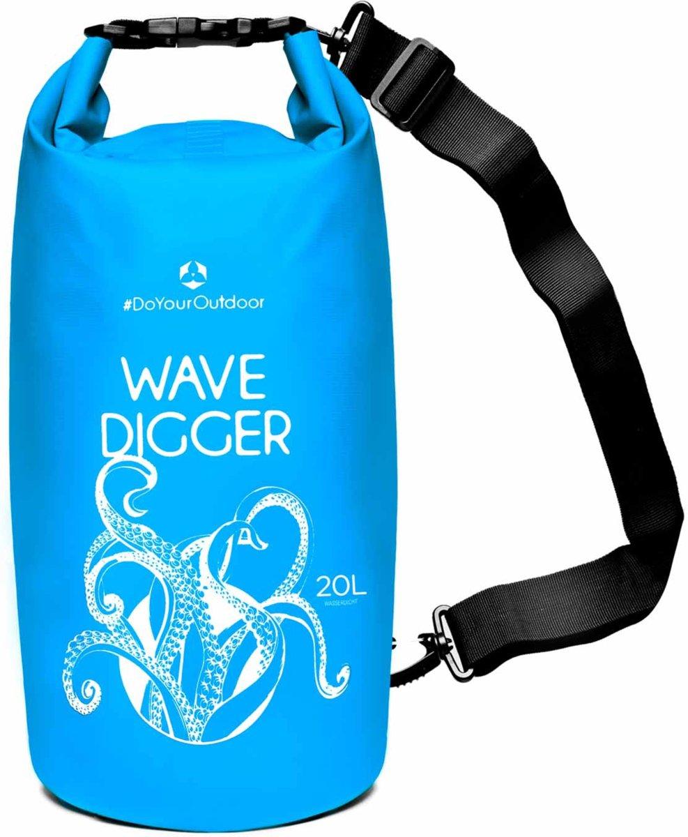 #DoYourOutdoor - Dry bag - »Krake« - waterdichte tas - Maat : 20L - blauw kopen