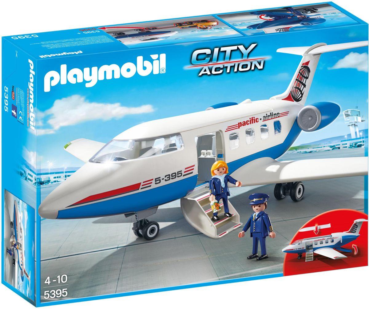 Chartervliegtuig Playmobil