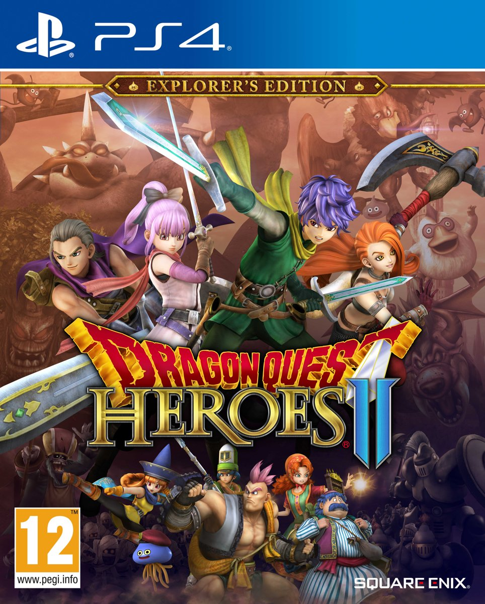 Dragon Quest Heroes 2 PlayStation 4