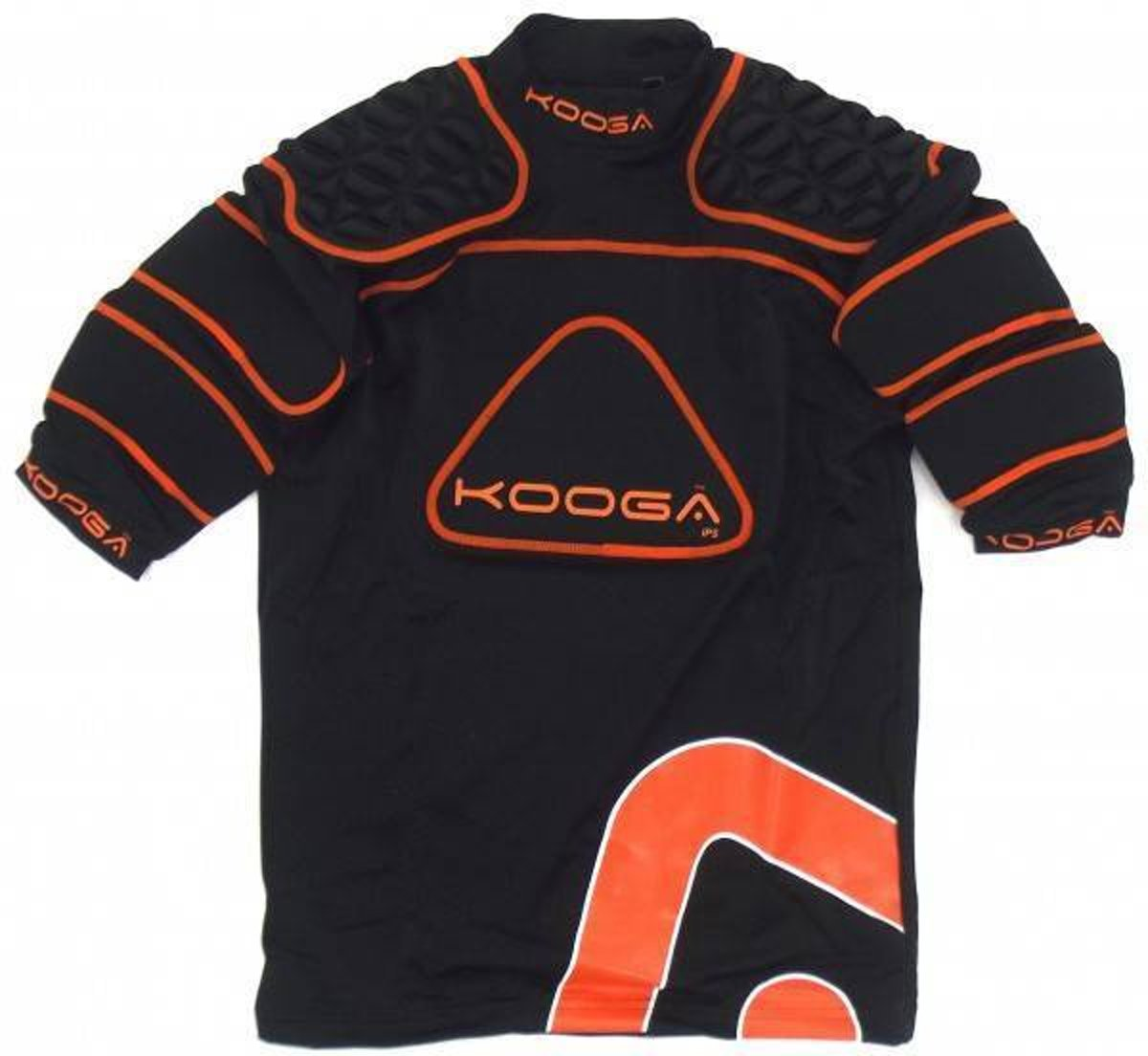 Kooga Rugby shoulderpads IPS Junior  Oranje - 164 kopen