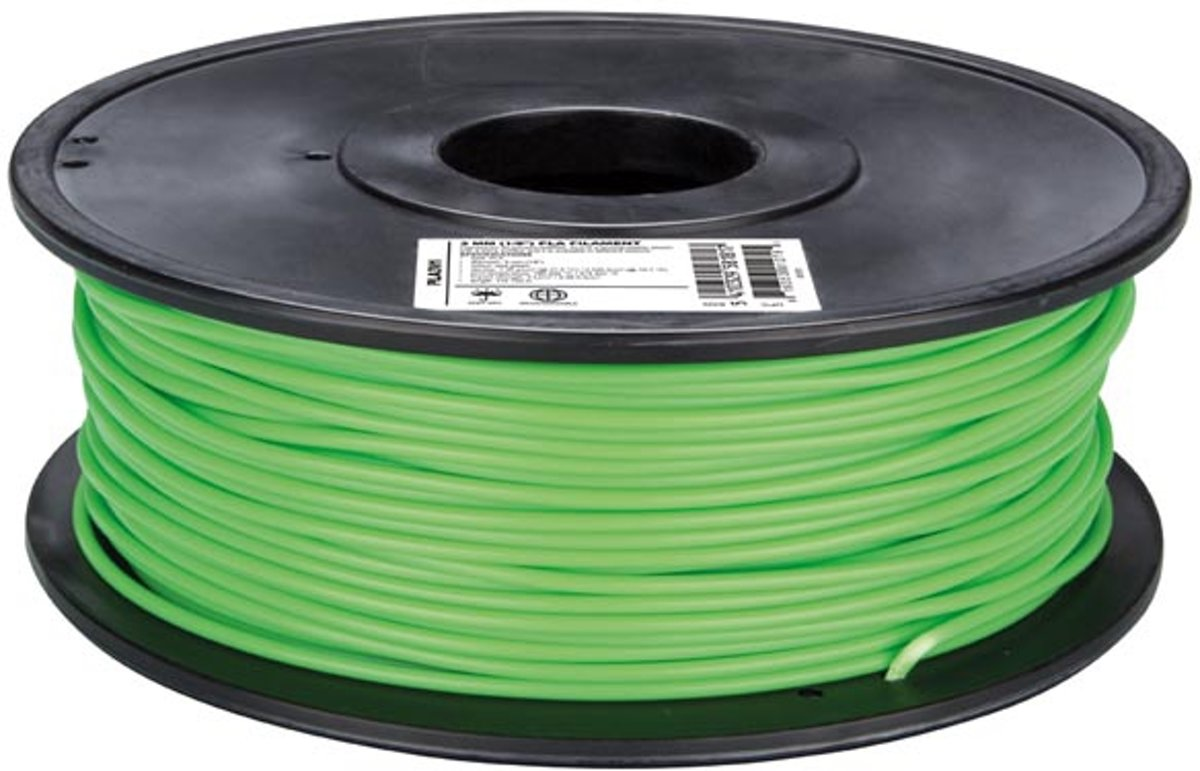 3 mm PLA-DRAAD - LICHTGROEN - 1 kg