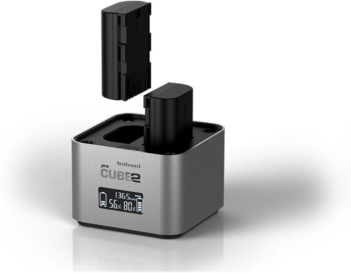 Hahnel ProCube2 Dubbele Acculader voor Canon Camera accu's kopen
