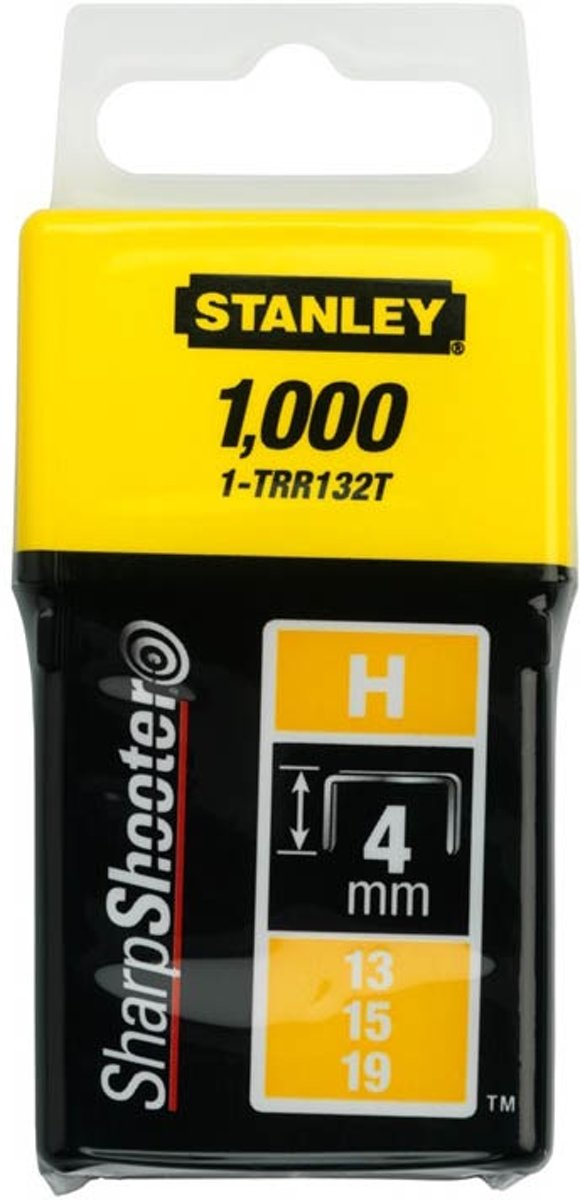 Stanley - Nieten - 8mm - Type H - 1000 Stuks kopen
