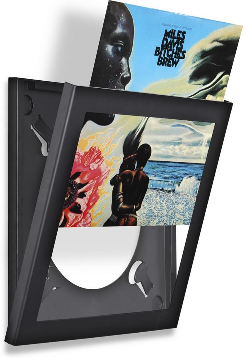 Uitgelezene bol.com   LP vinyl wissellijst frame - fotolijst zwart MI-14
