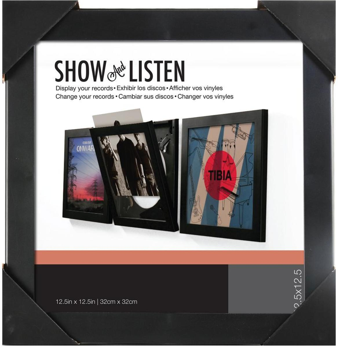 Verrassend bol.com   LP vinyl wissellijst frame - fotolijst zwart FQ-58