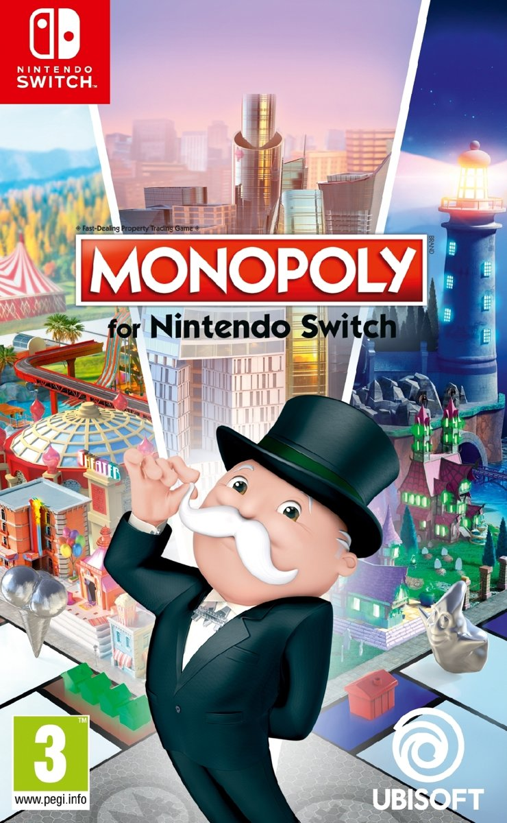 Monopoly for Nintendo Switch voor €16,90