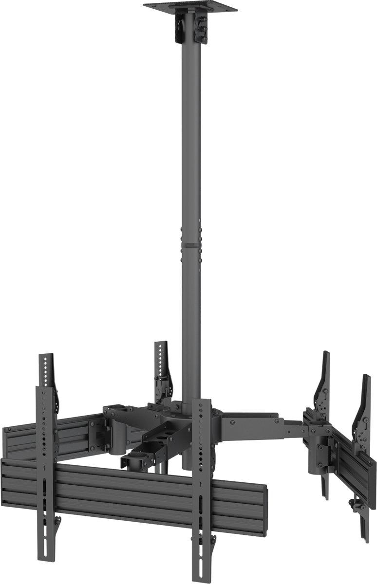 Equip 650371 flat panel plafond steun 165,1 cm (65'') Zwart kopen