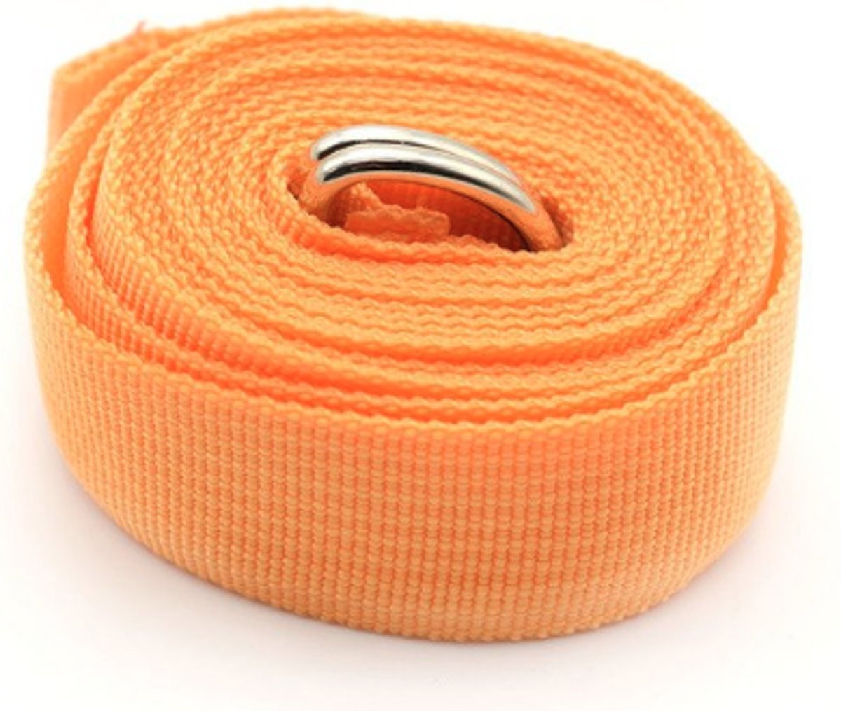 UnitedGoods Yoga riem oranje - yoga belt orange - 180 cm - katoen - cotton kopen