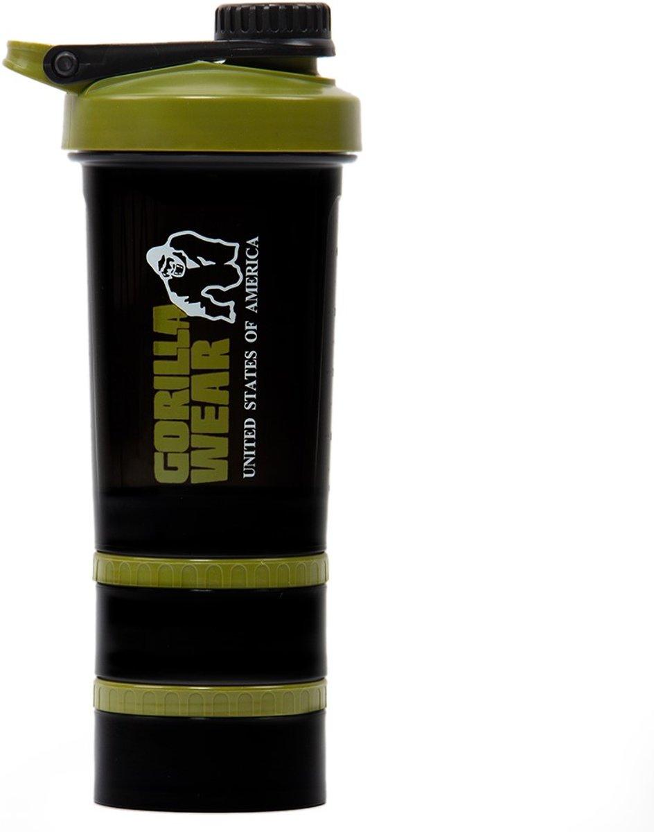 Gorilla Wear Shaker 2 GO - Black/Army Green kopen