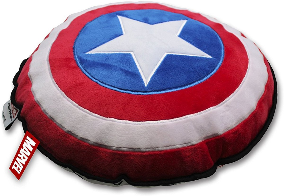 Swell Bol Com Marvel Kussen Captain America Schild 48X37X10 Cm Gmtry Best Dining Table And Chair Ideas Images Gmtryco