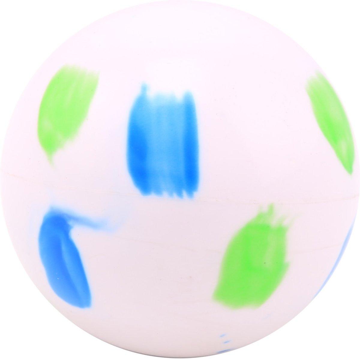 Hockeybal multicolor - blauw/groen -120 stuks kopen